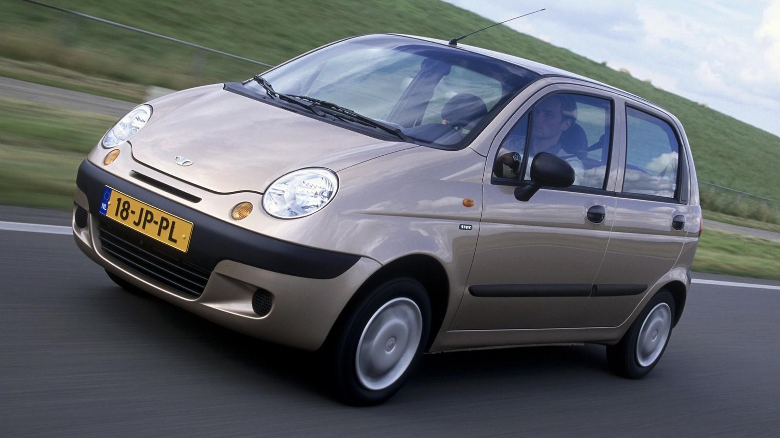 На фото6 Daewoo Matiz '2000–11