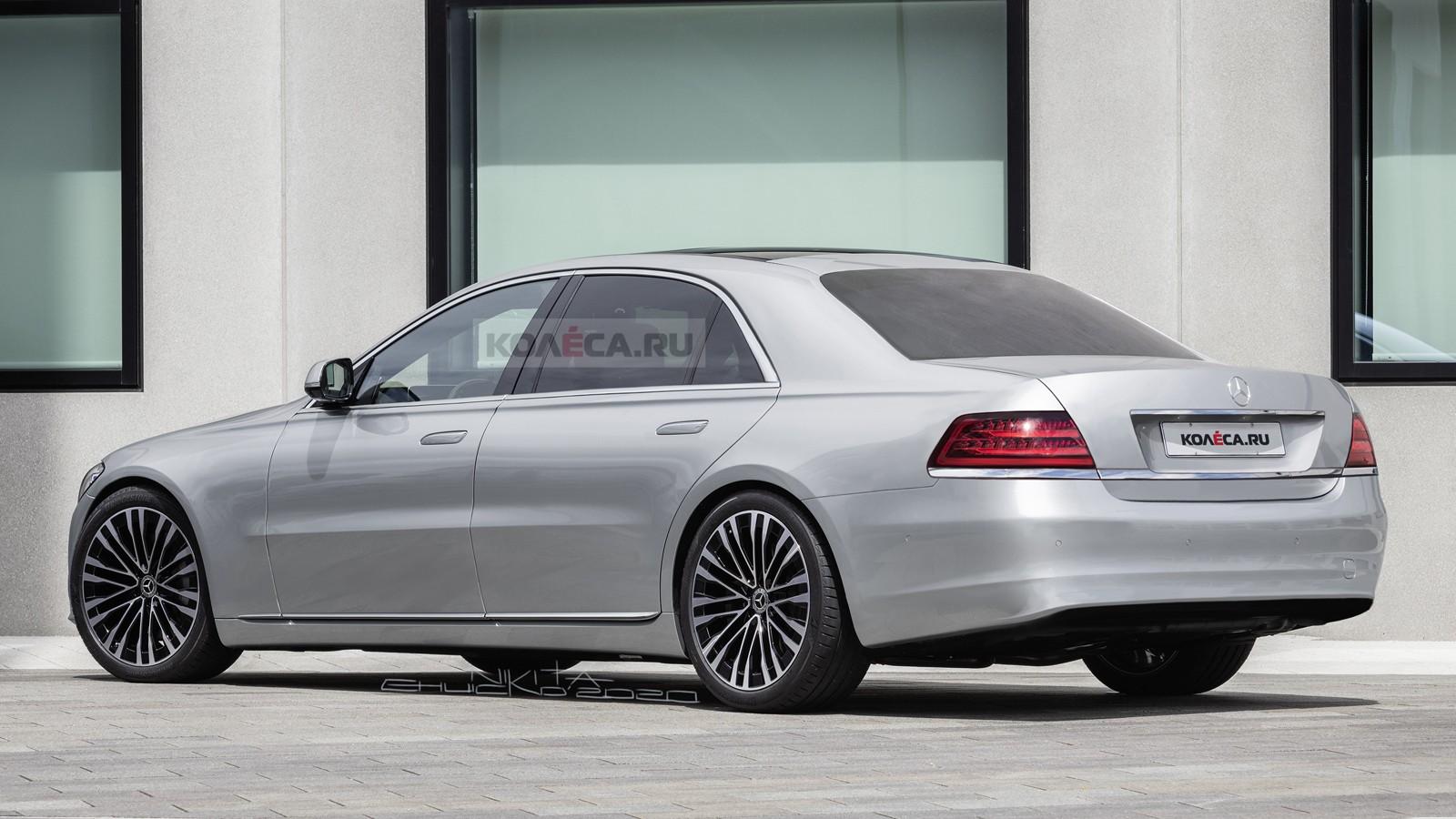 Новый Mercedes-Benz S-класса в стиле W140: каким он мог быть