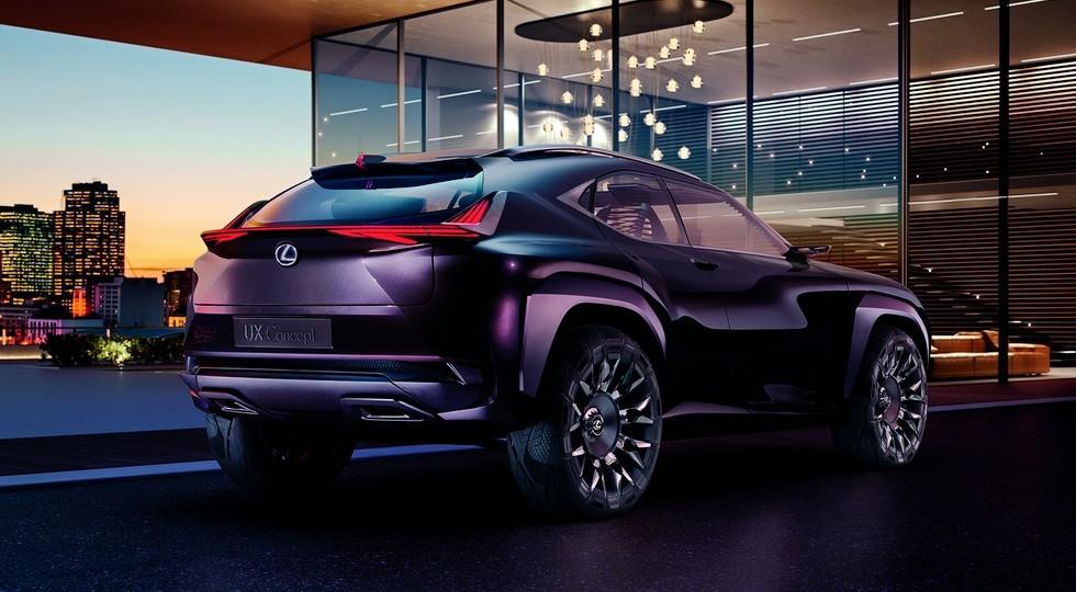 На фото: Lexus UX Concept
