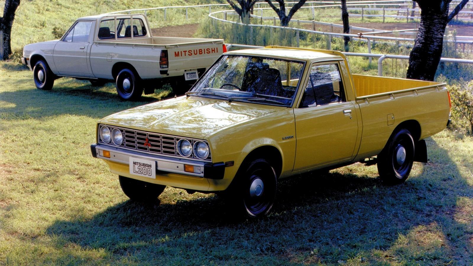 На фото: Mitsubishi L200 '1970–81