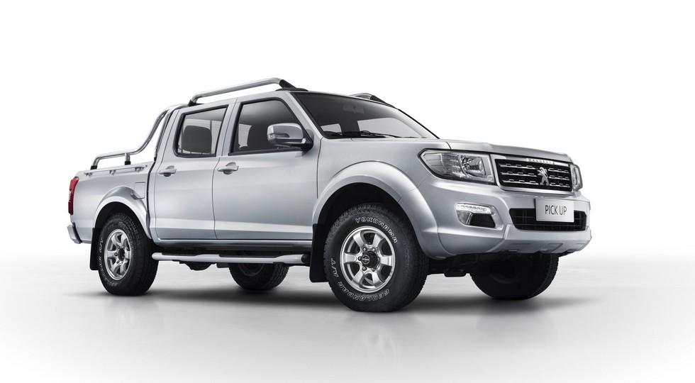 На фото: Peugeot Pick Up -