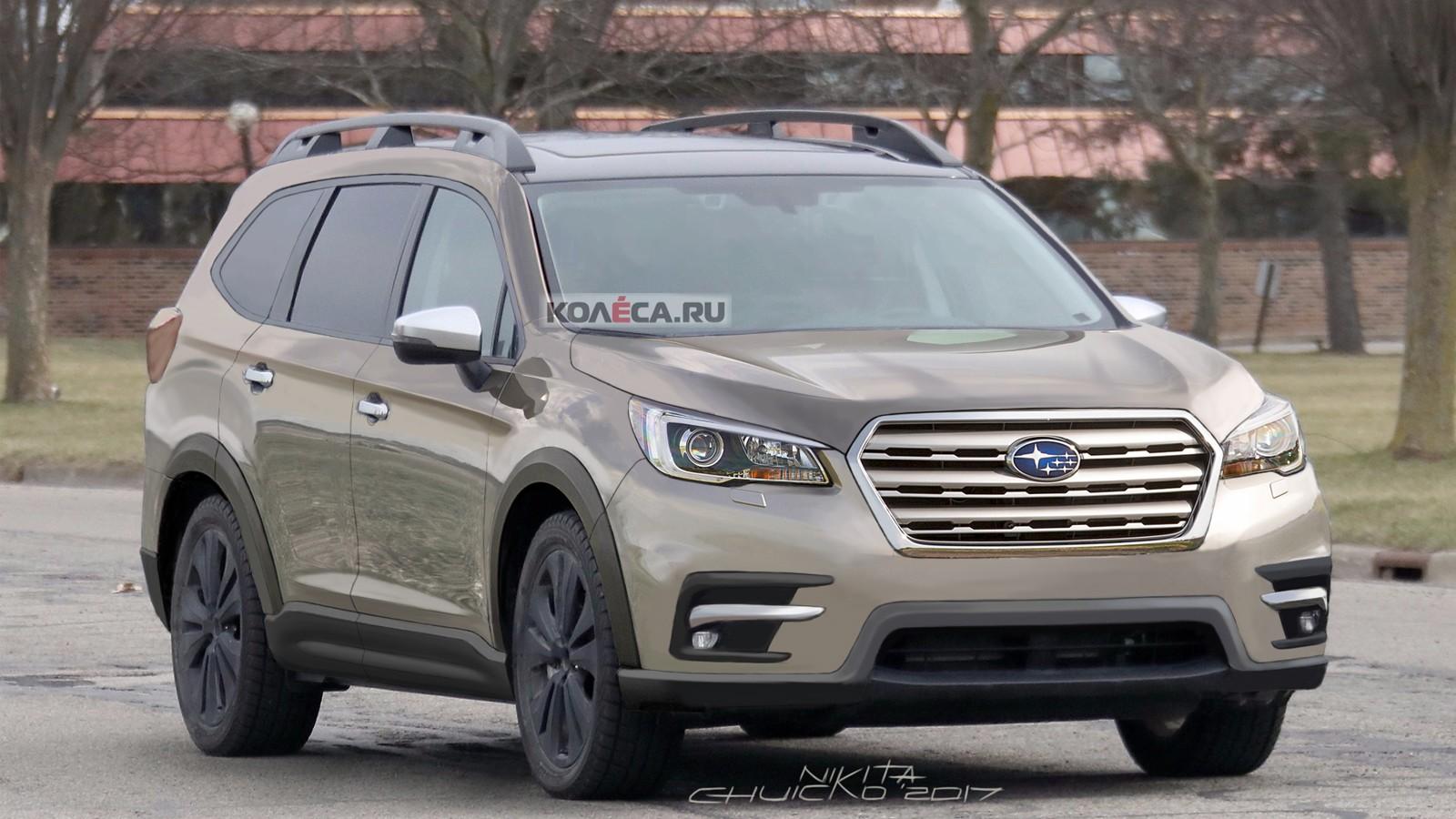 Subaru SUV front
