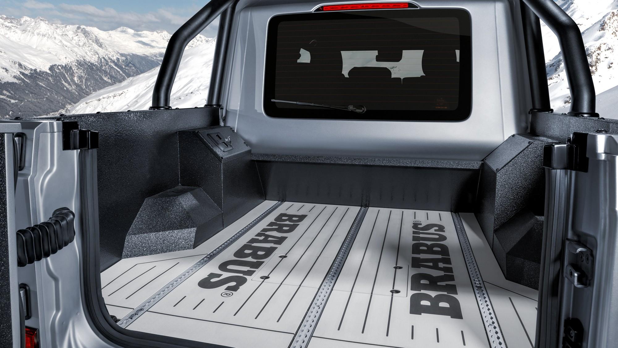 Brabus 800 Adventure XLP: пикап на базе нового «гелика» с 490-миллиметровым клиренсом