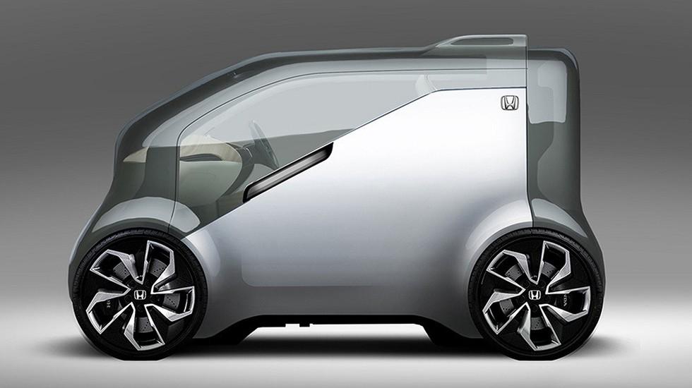 На фото: концепт Honda NeuV