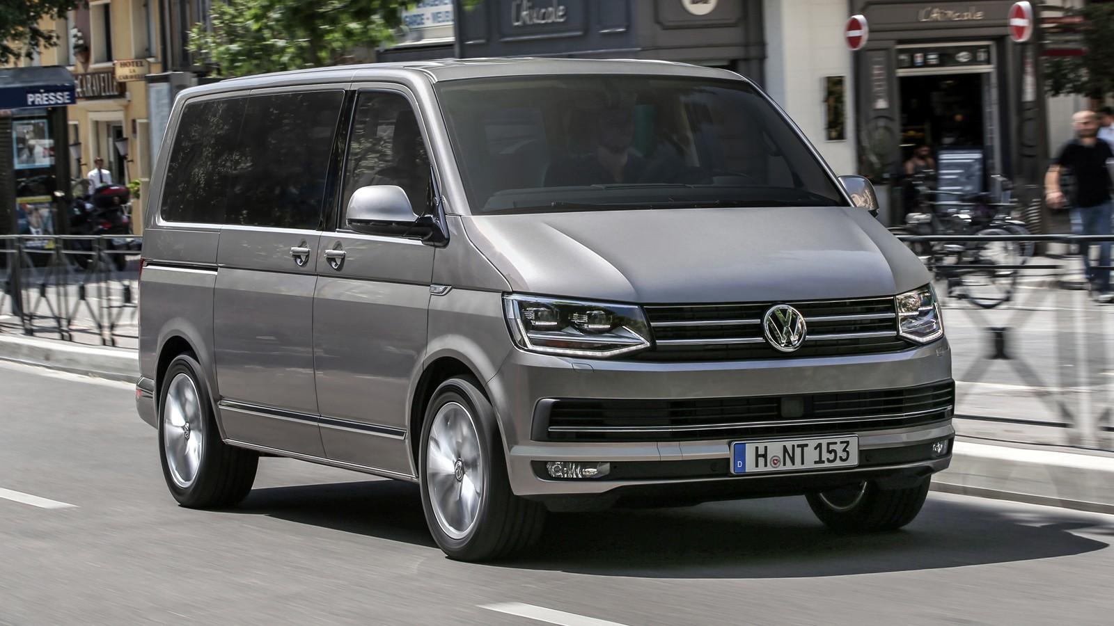 На фото: VW Multivan (T6)