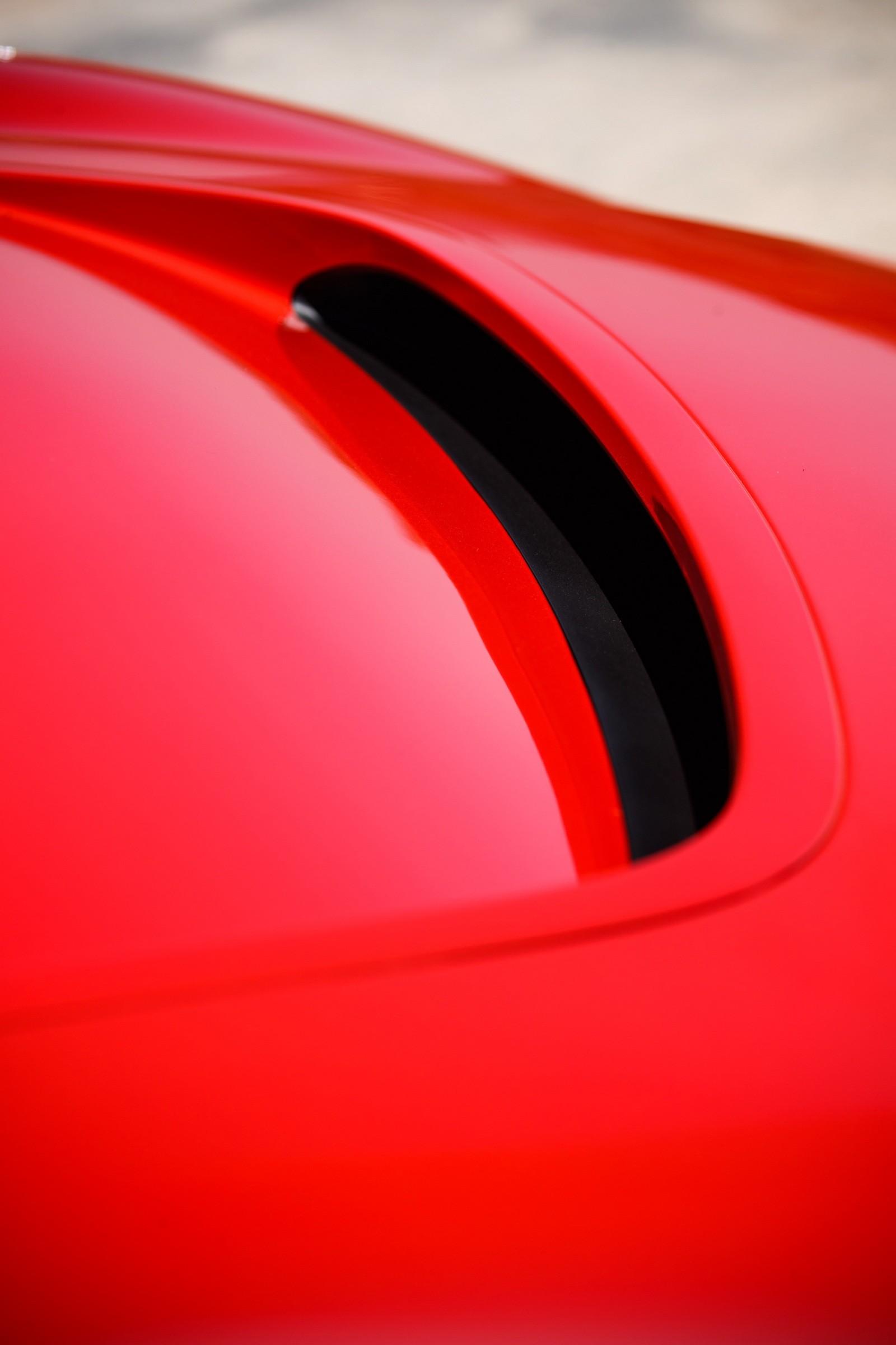 Jaguar I-PACE красный воздухо заборник