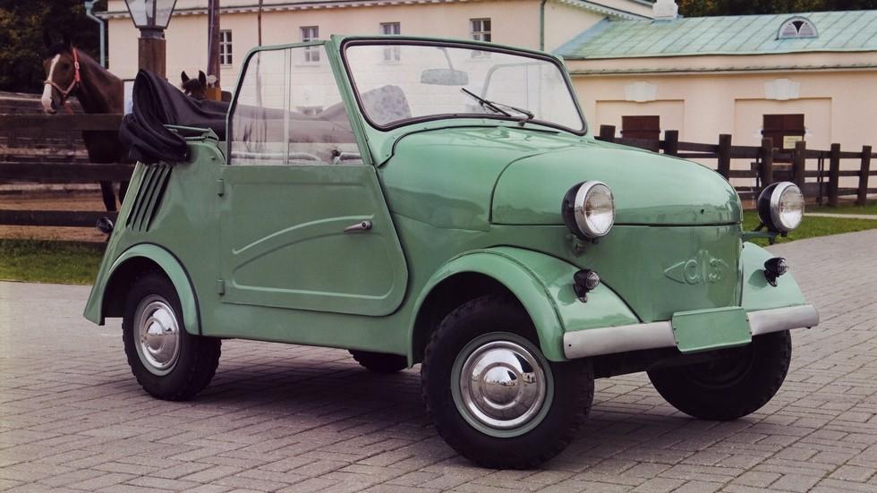 На фото: СМЗ С3A. СССР, 1958