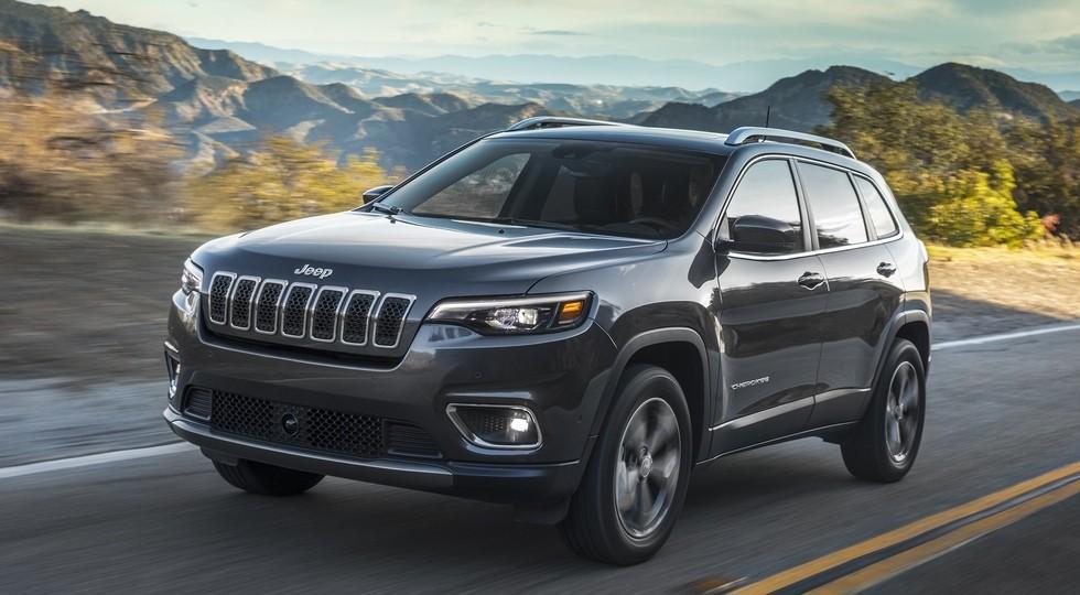 На фото: Jeep Cherokee Limited