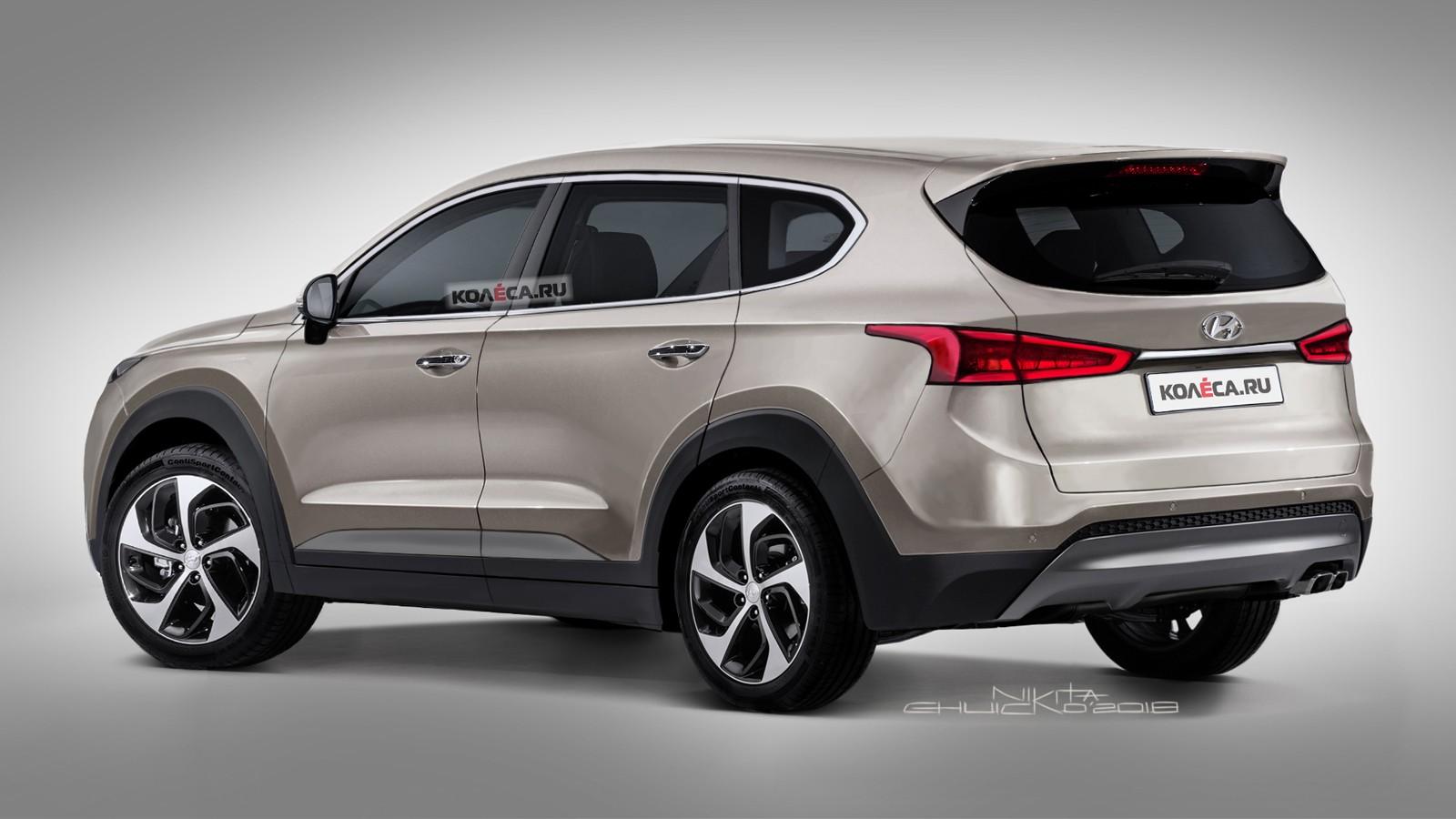 Hyundai Santa Fe rear1