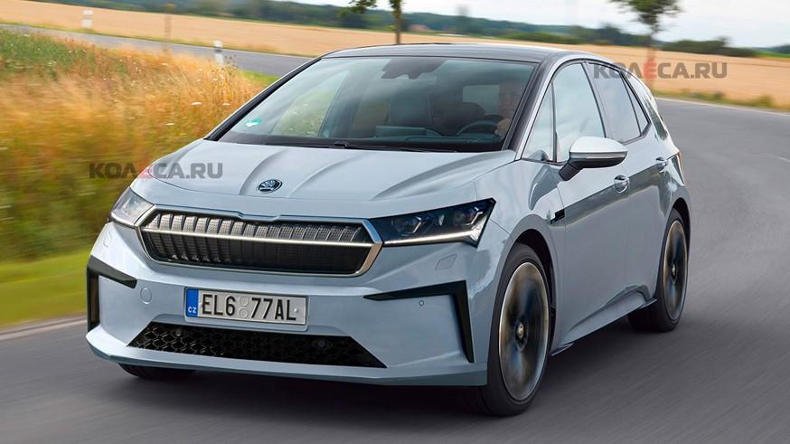 Skoda разрабатывает новый пятидверный хэтчбек размером с Volkswagen Golf