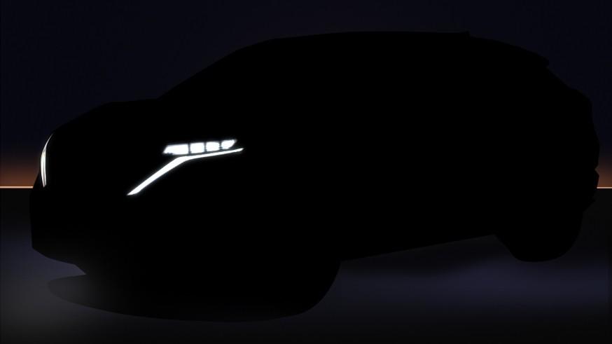 Nissan дразнит тизером кроссовера Ariya перед скорой премьерой