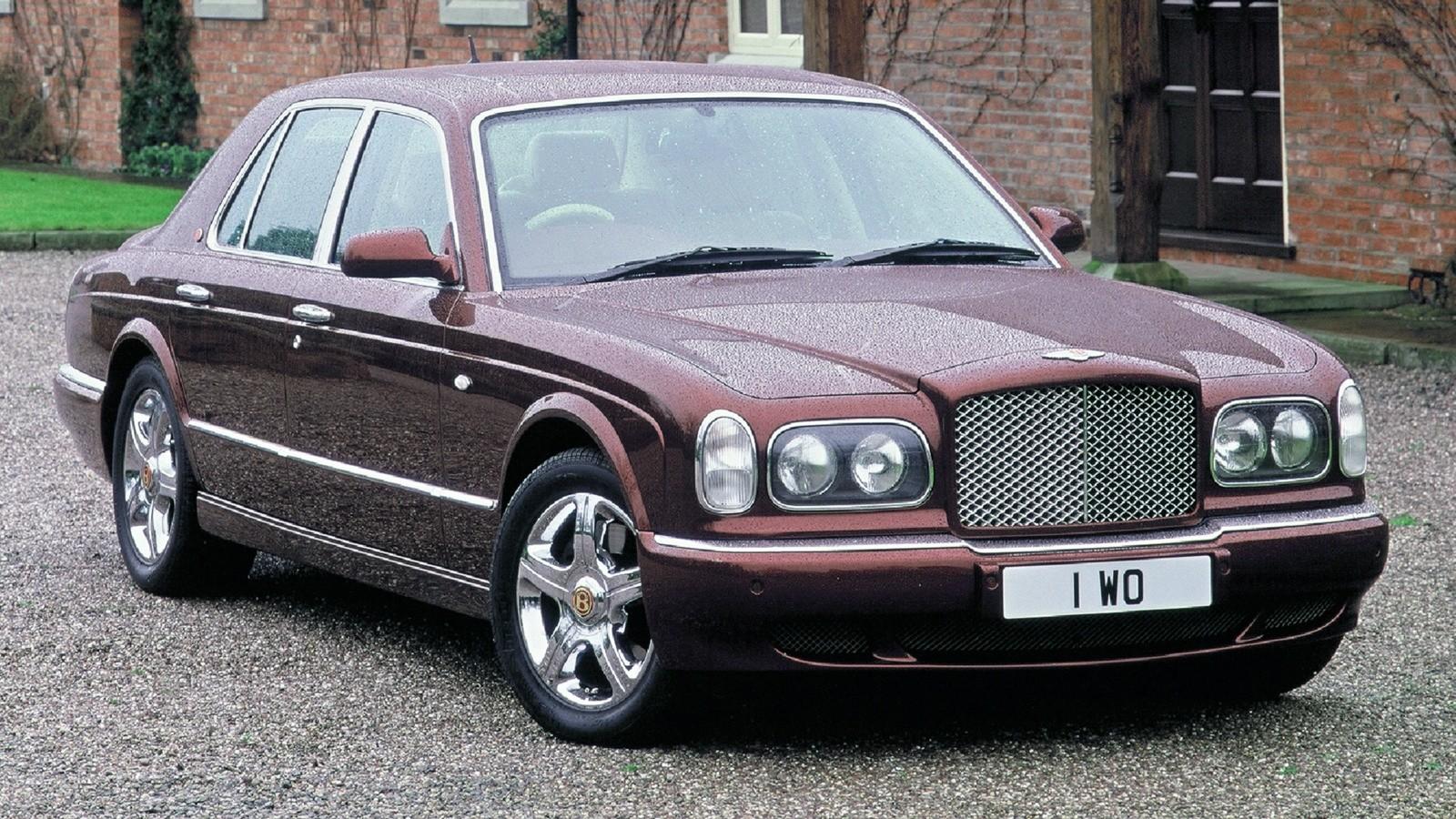 Bentley Arnage Red Label UK-spec '1999–2002