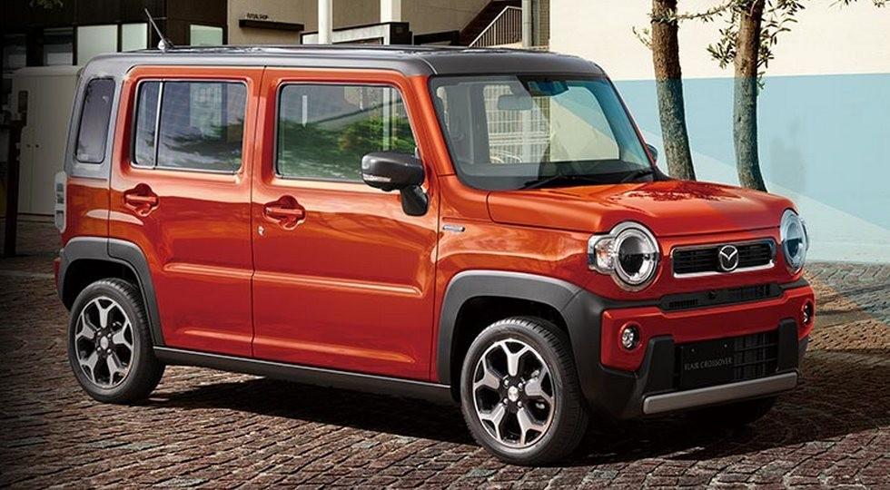 «Квадратный» Suzuki Hustler перевоплотился в новый кроссовер Mazda - КОЛЕСА.ру – автомобильный журнал