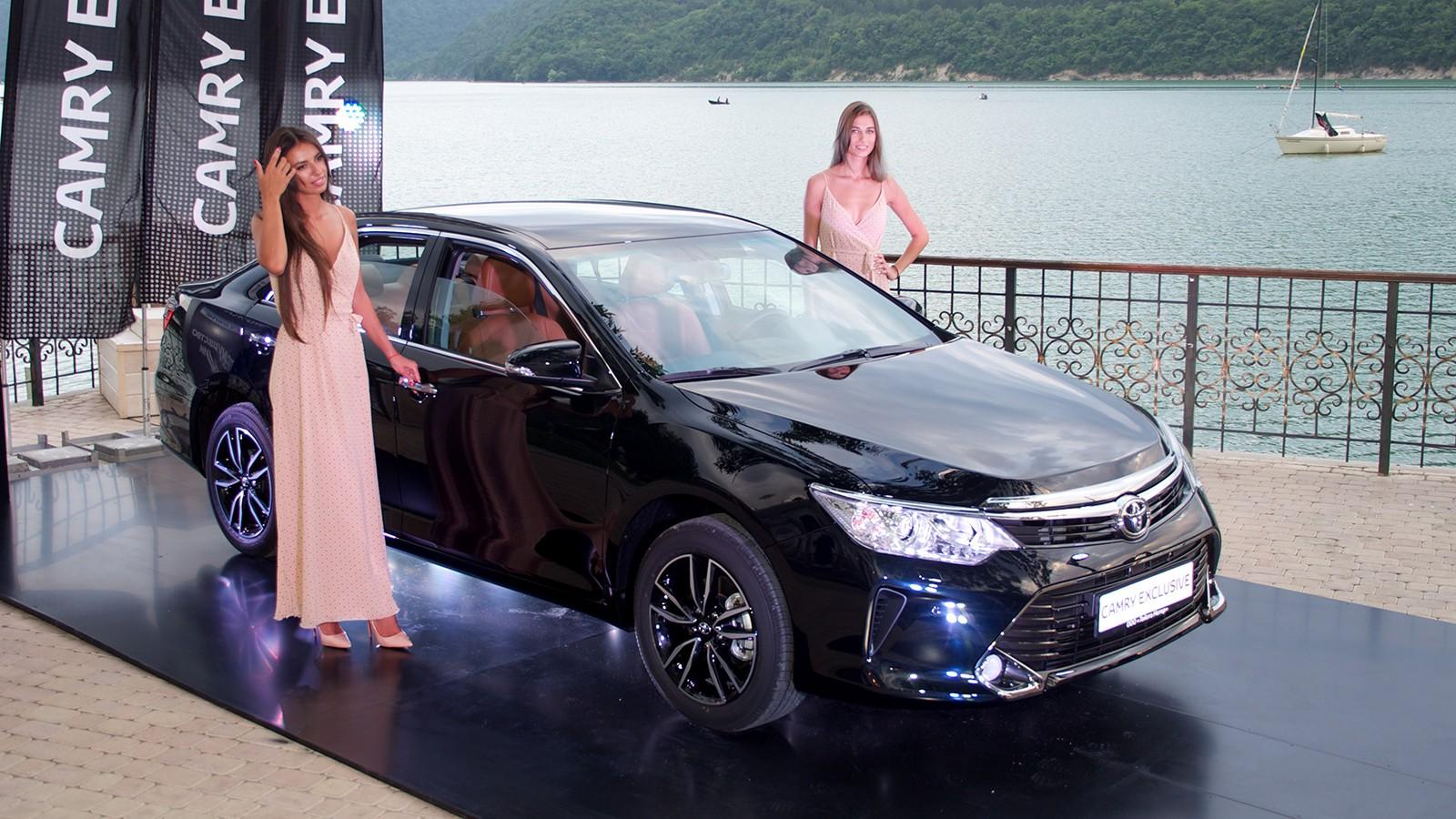 Премьера Toyota Camry Exclusive