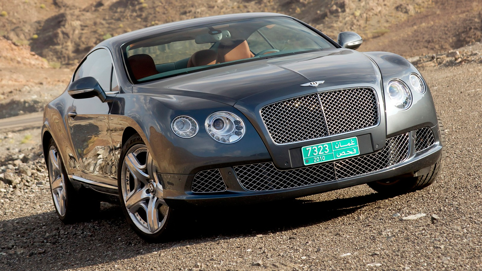 На фото: Bentley Continental GT
