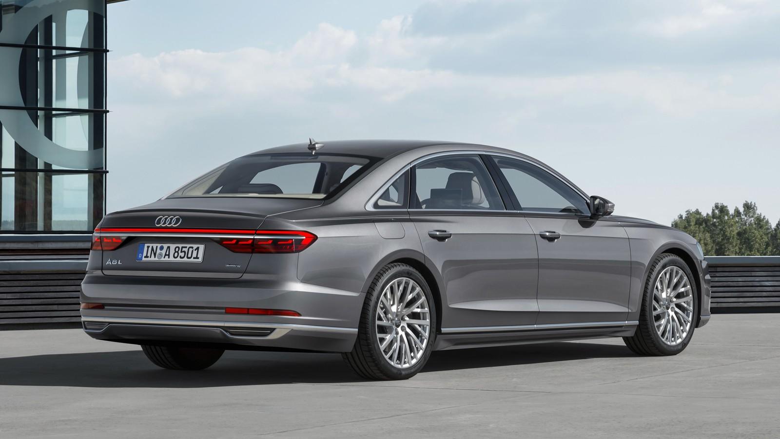 Audi a8rear