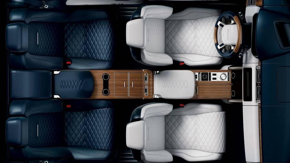 На фото: интерьер Range Rover SV Coupe