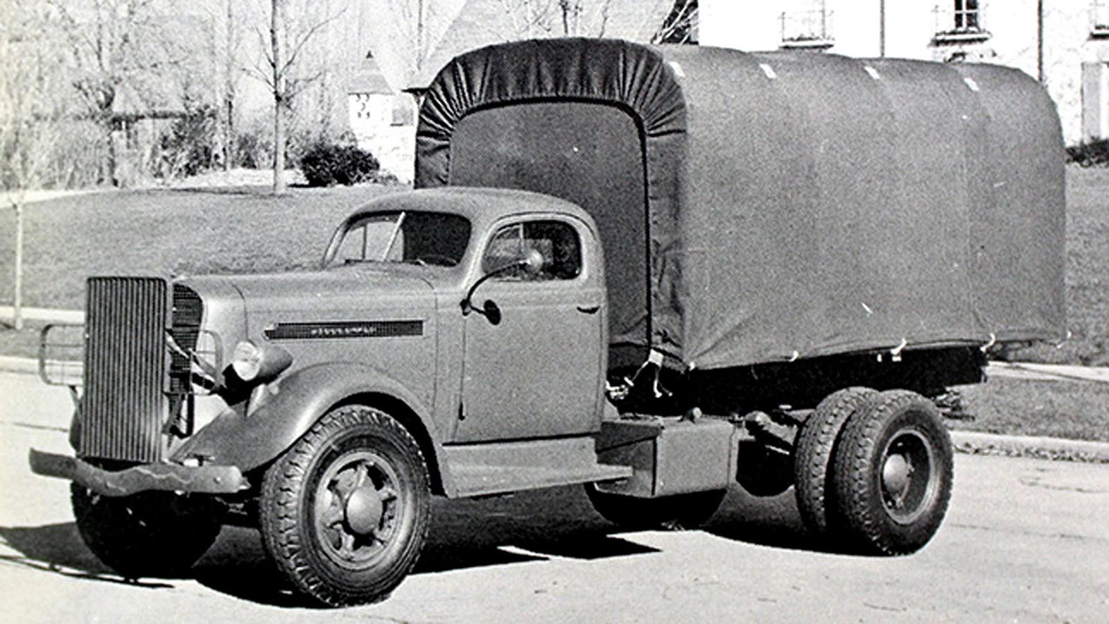 Коммерческий грузовик Studebaker K25 для армий стран Западной Европы