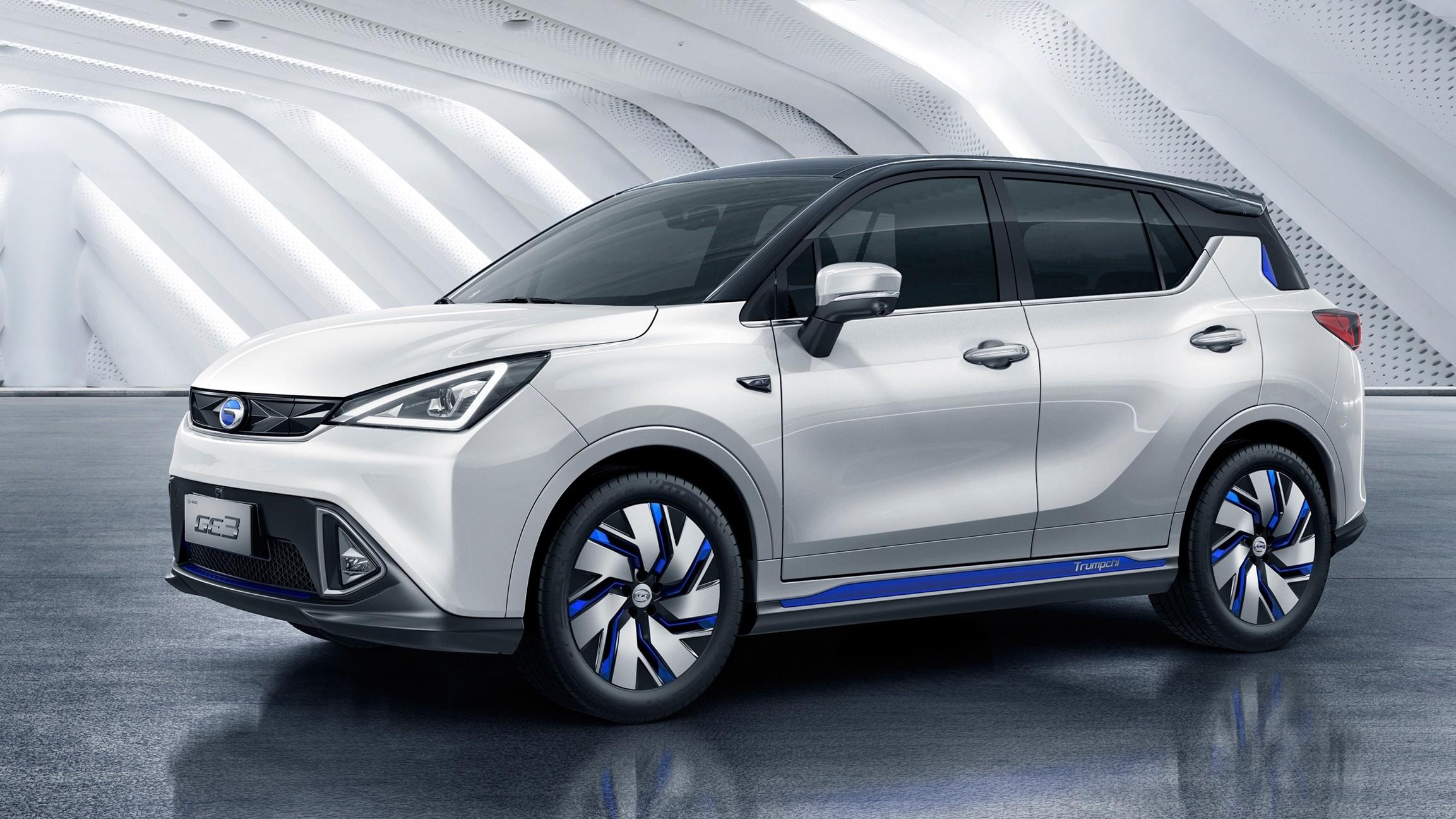 Электромобиль GE3, поступивший в Китае в продажу только в 2017 году, а в этом уже получивший АКБ большей ёмкости