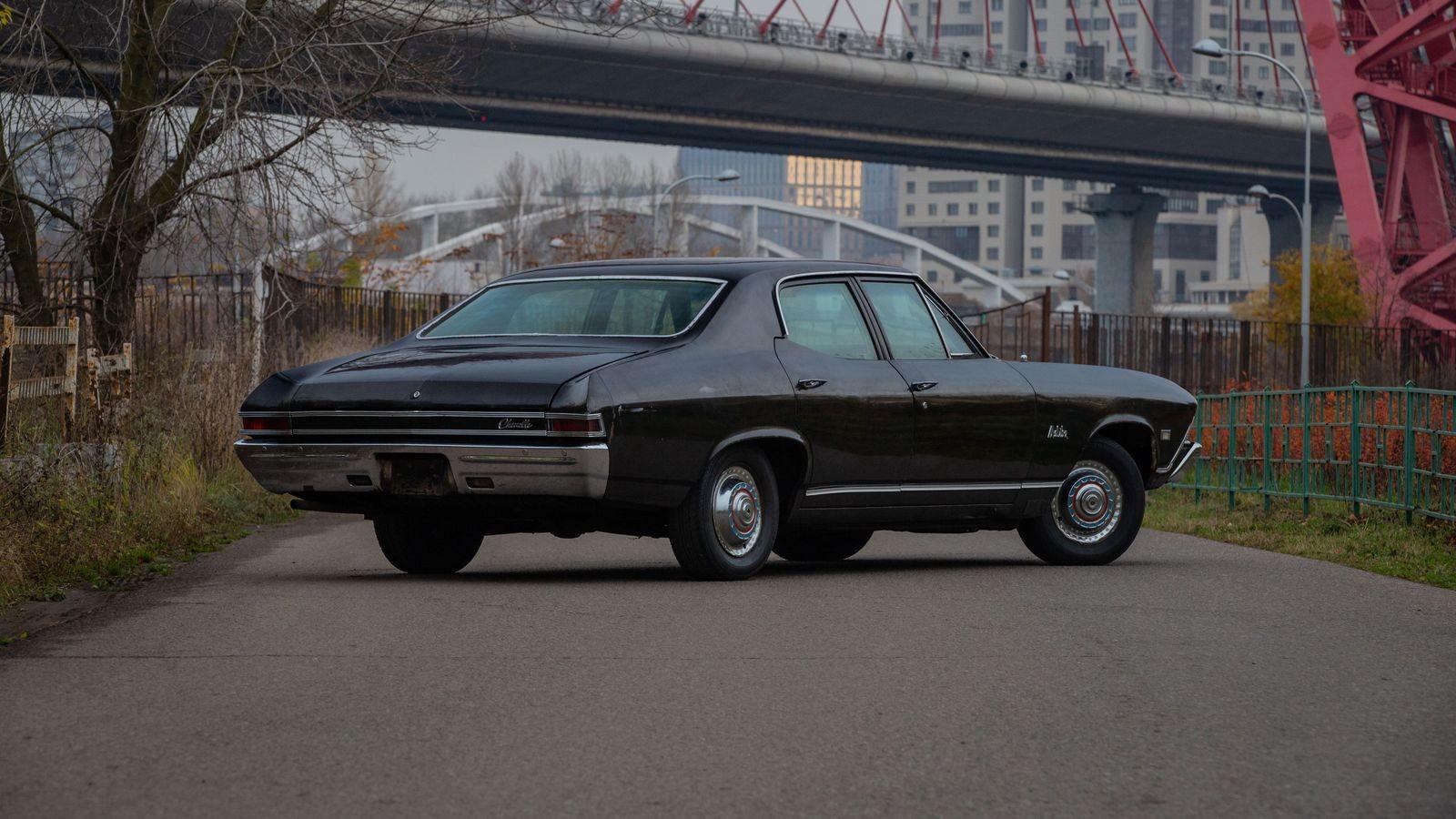 Из США в СССР через Индию: опыт владения Chevrolet Chevelle «от дедушки»