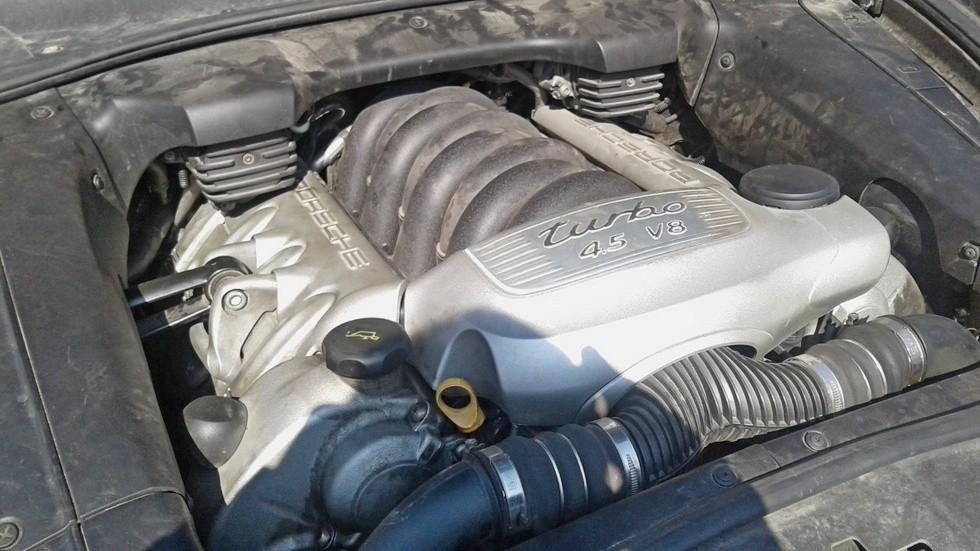 Porsche Cayenne двигатель