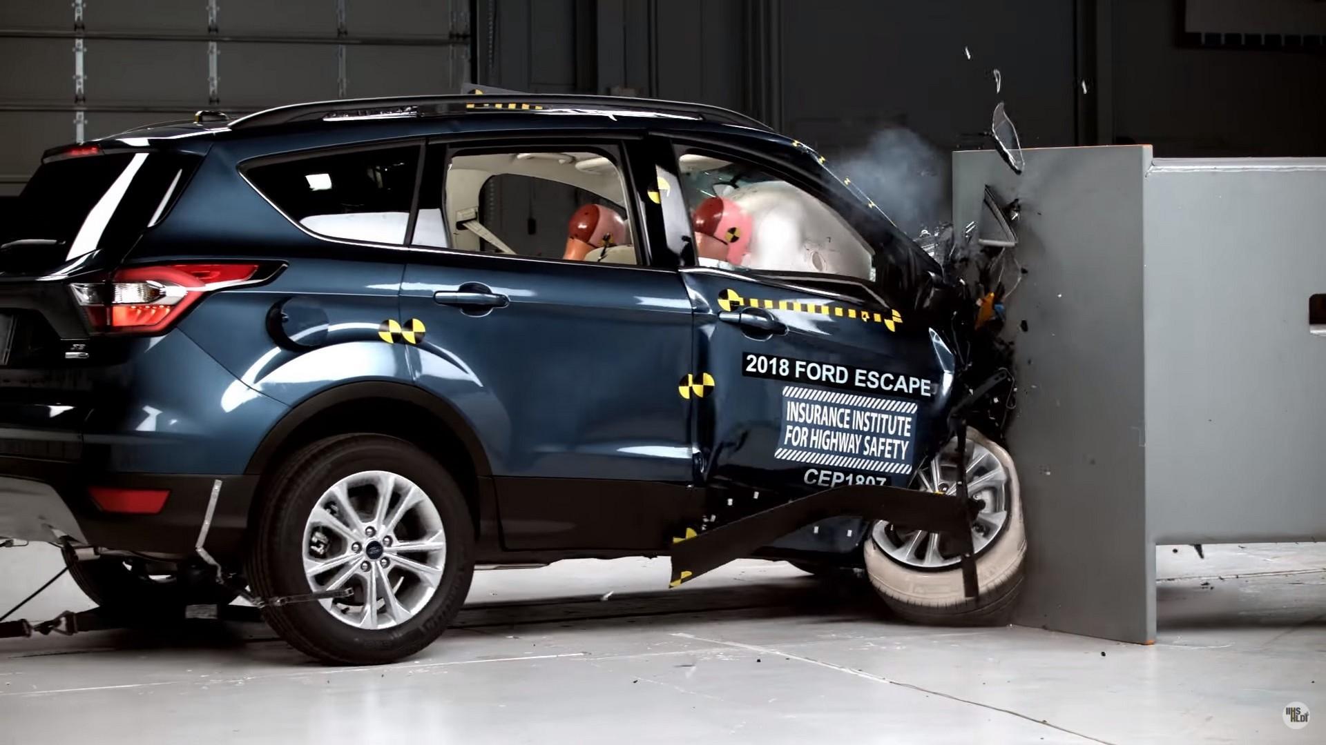 Ford Escape в тесте IIHS
