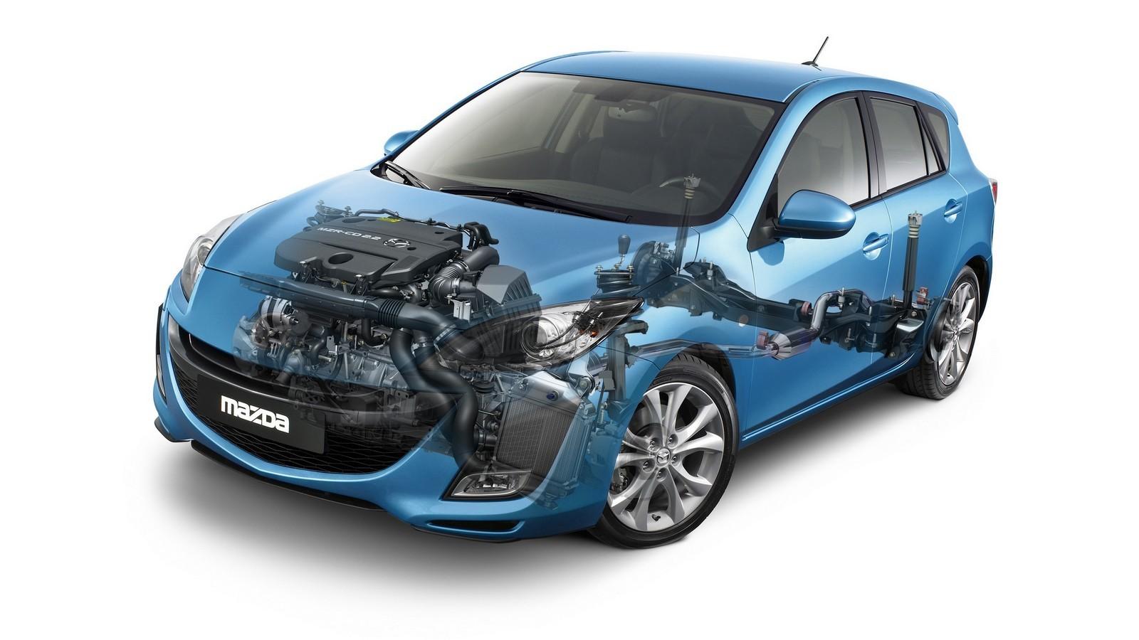 На фото: Mazda3 Hatchback '2009–11