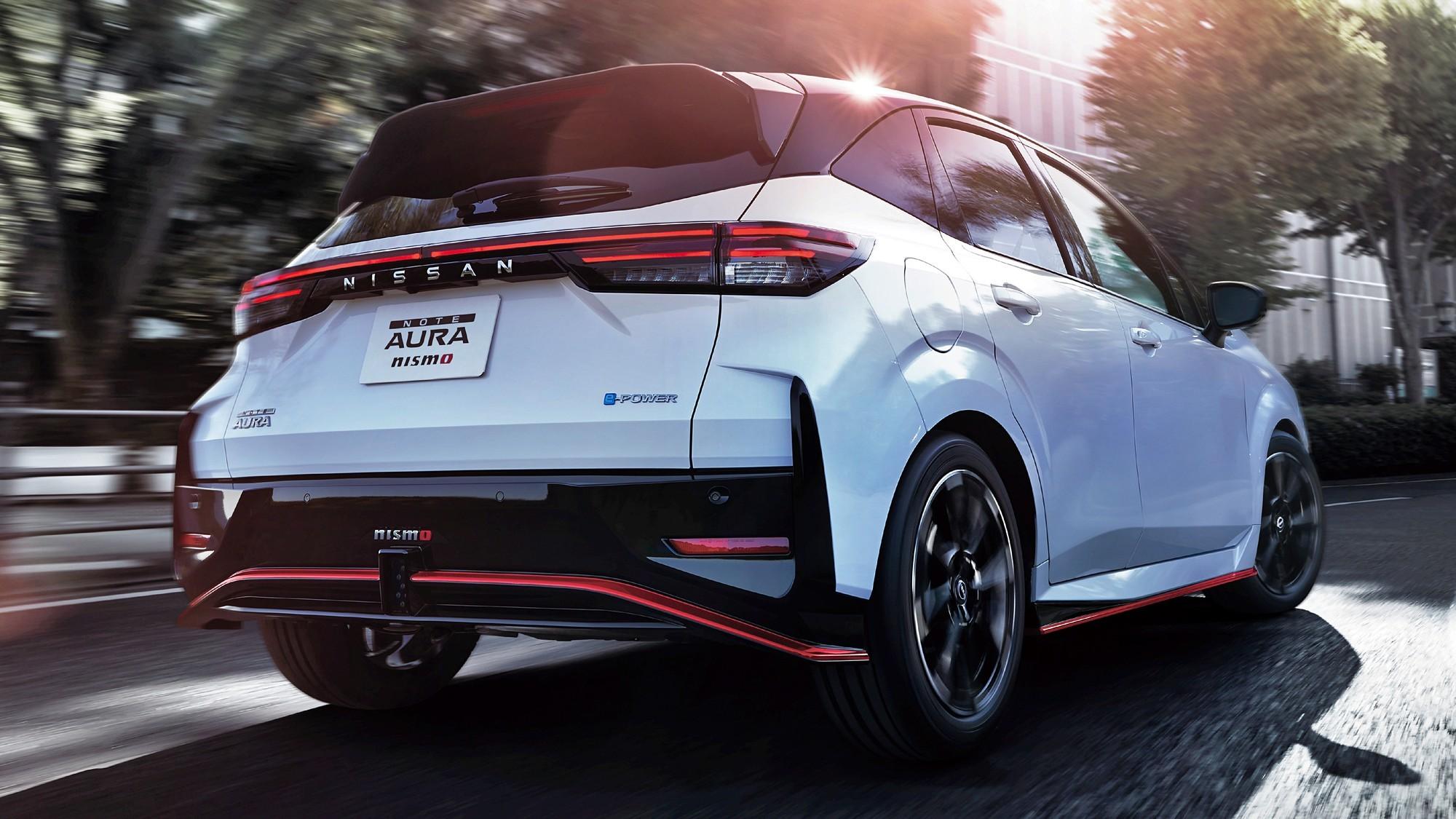 Nissan Note Aura Nismo: спорт и премиум в одном флаконе, но без прибавки мощности