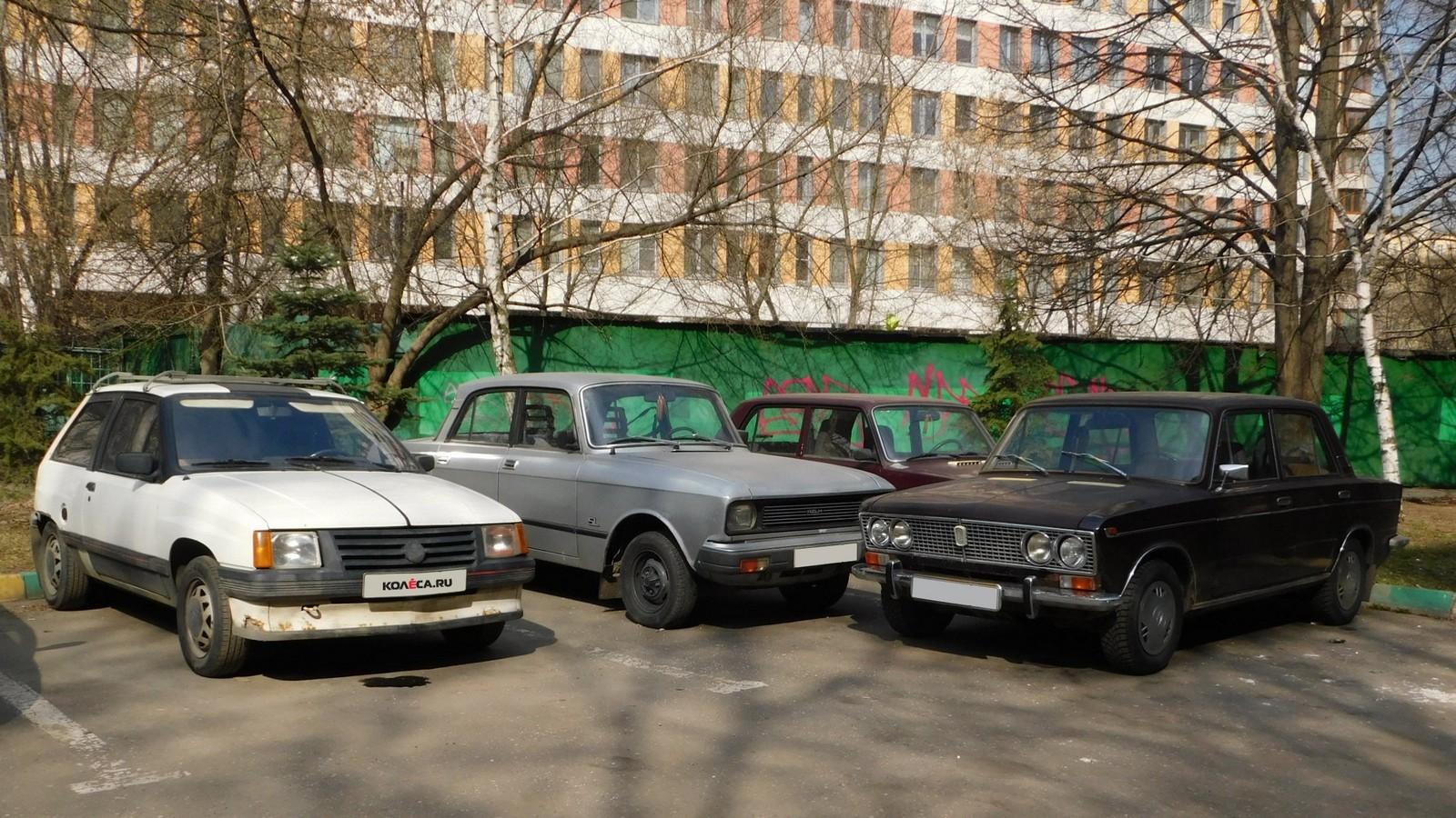 Советские автомобили и Opel Corsa
