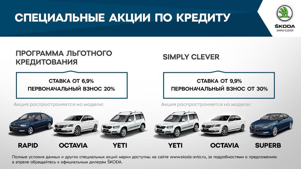 Специальные предложения для владельцев SKODA в апреле  (2)