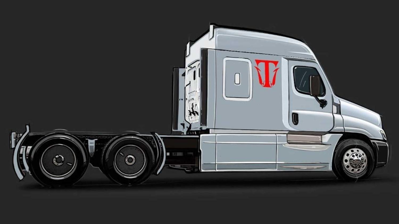 Большая батарея и немного водорода: Triton-EV показал электрический седельный тягач