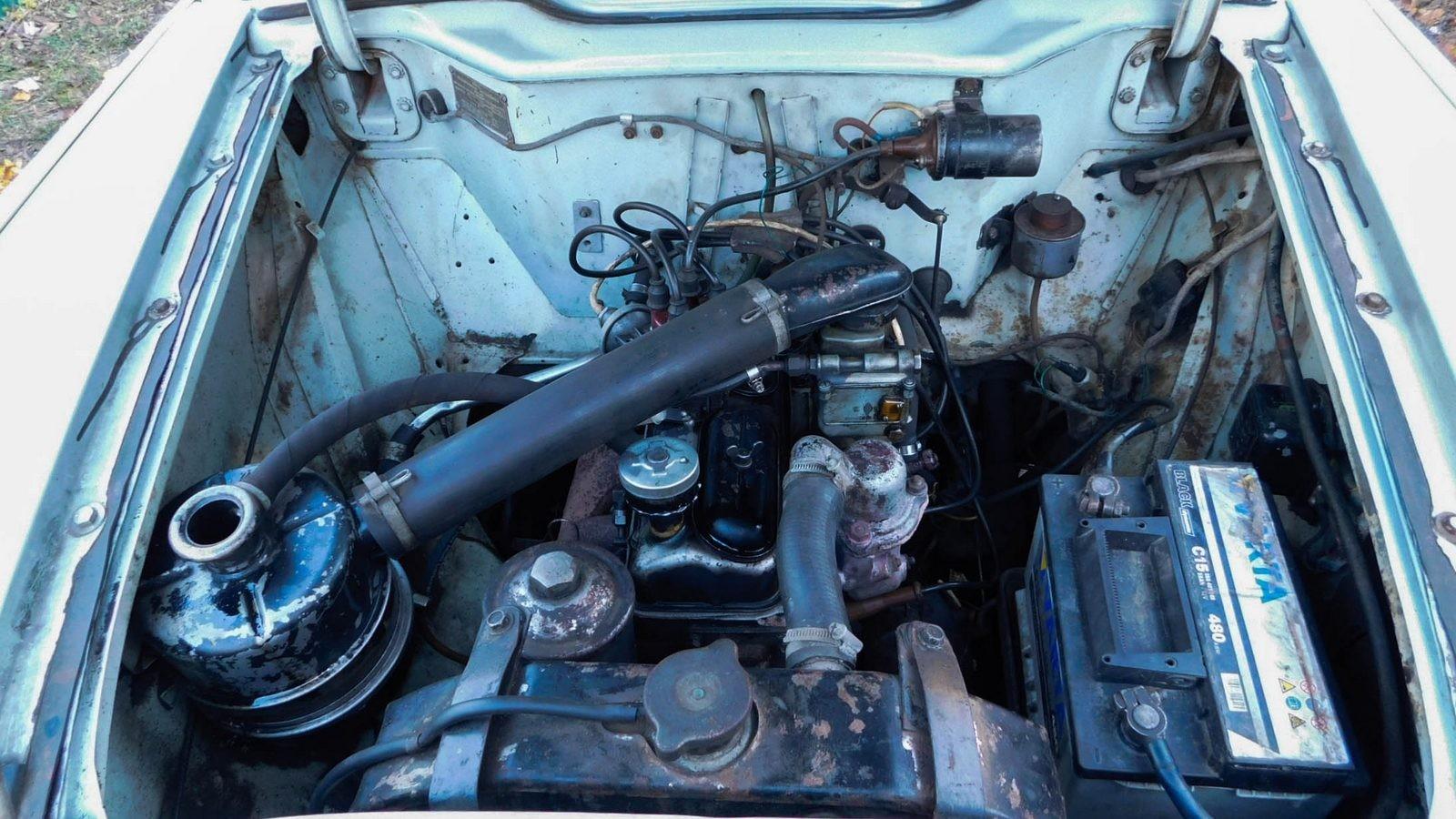 Москвича 407 двигатель