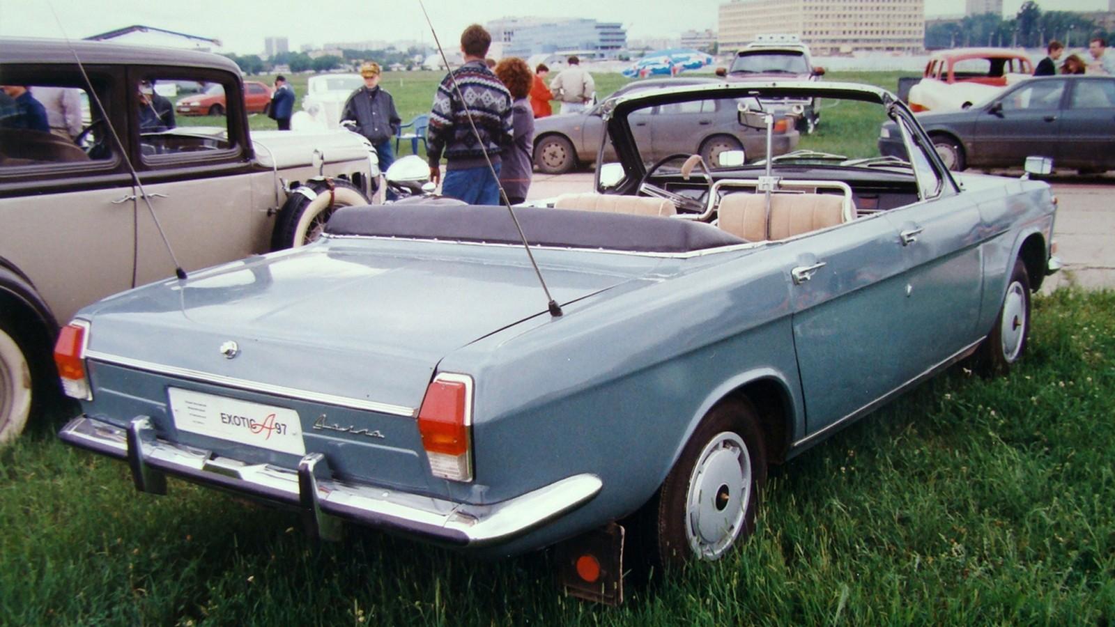 Парадный вариант серийного легкового автомобиля ГАЗ-24 «Волга» (фото автора)