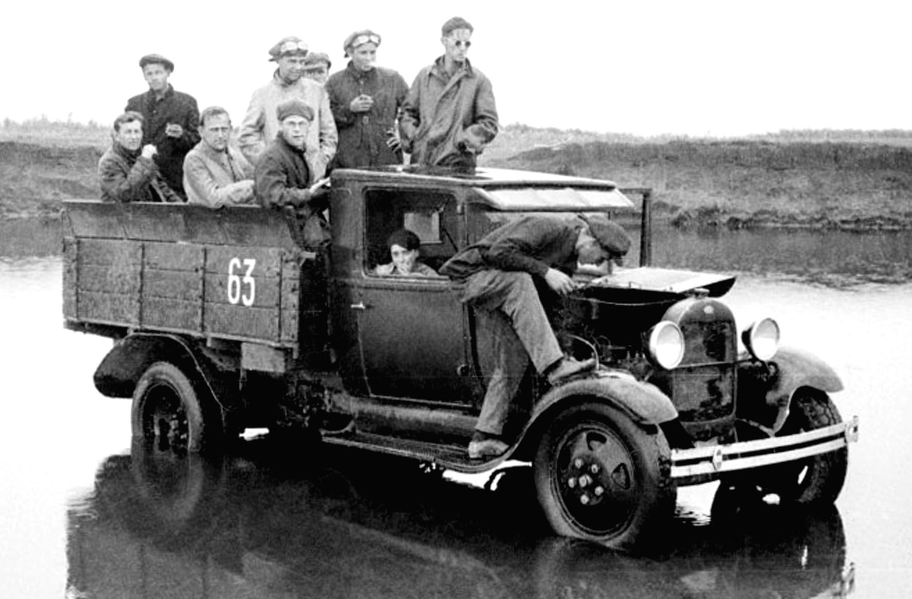 Ford-AA советской сборки