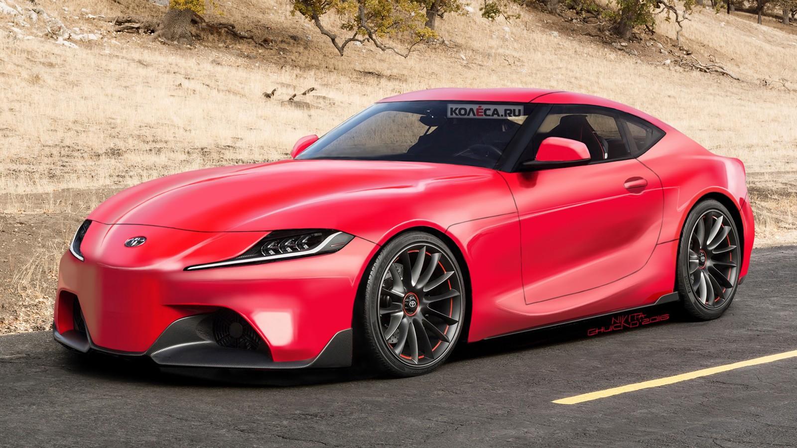 На фото: Toyota Supra