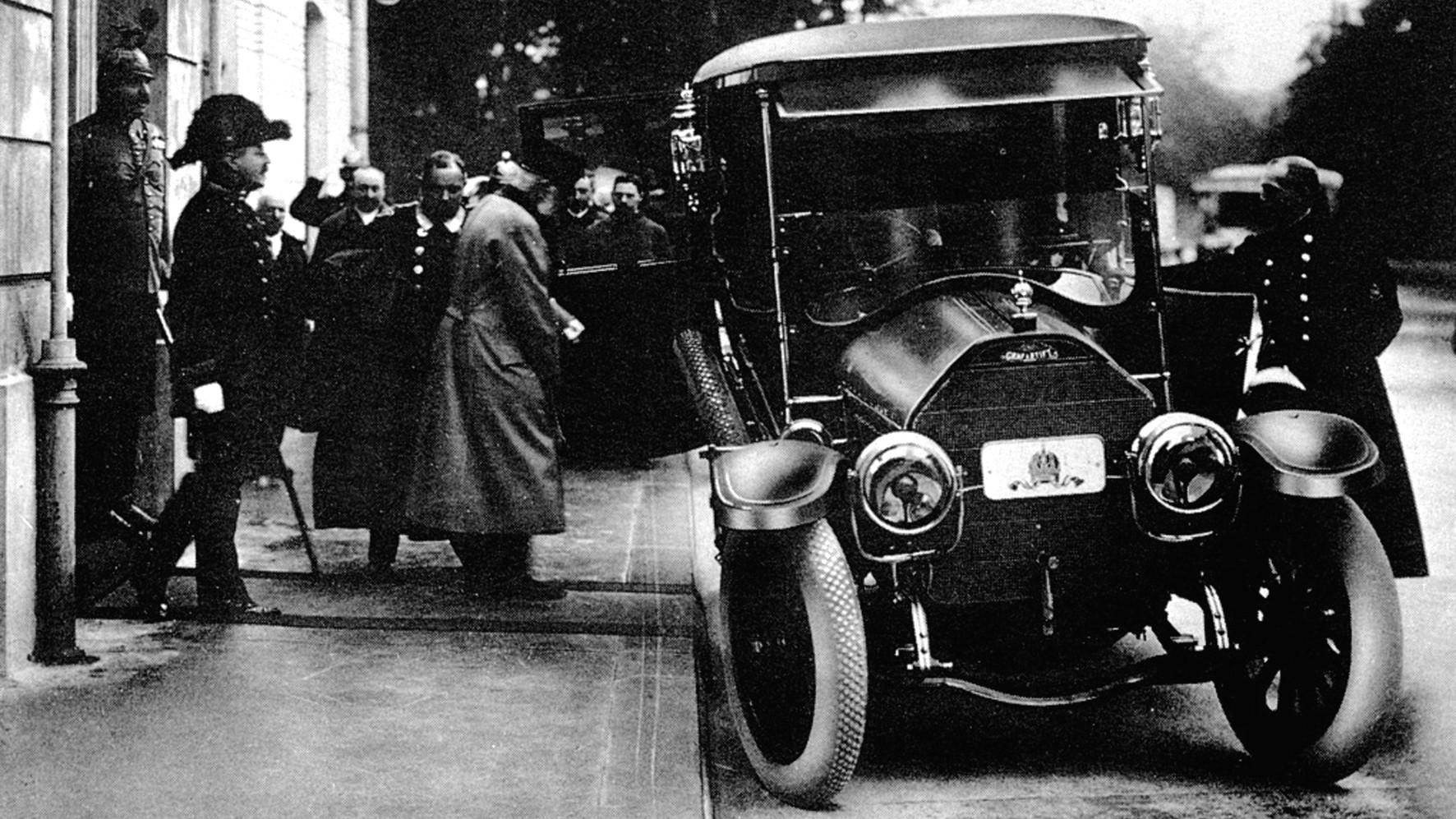 Автомобиль Gräf und Stift 28/32PS императора Франца Йозефа I. 1912 год