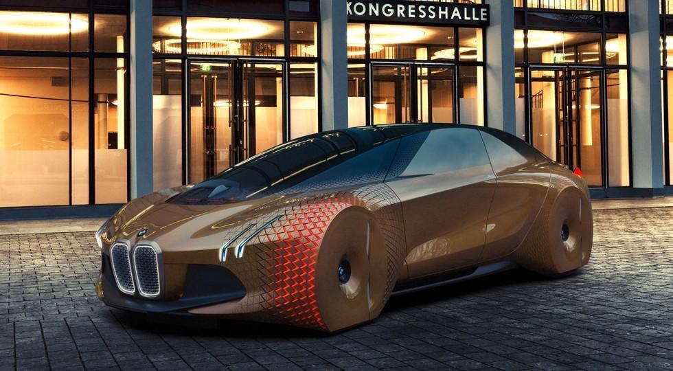На фото: концепт BMW Vision Next 100
