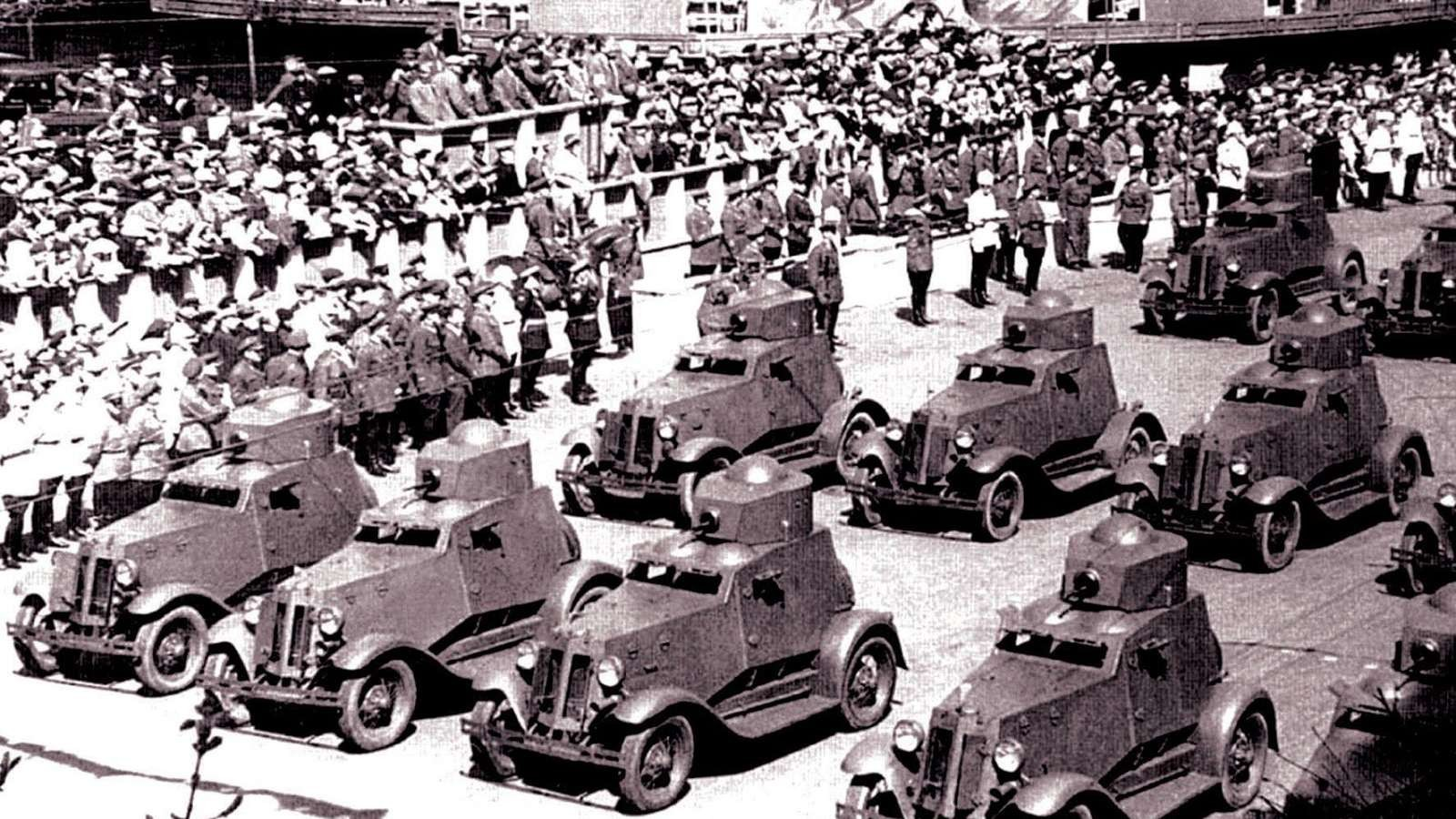 армейские легковушки СССР 9