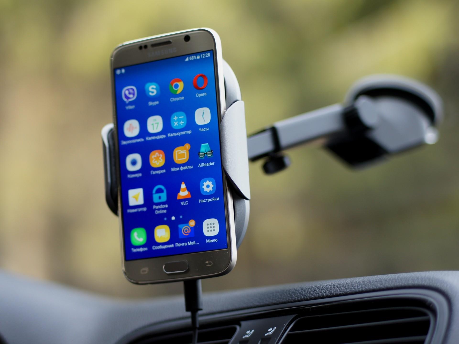 Распахнутые объятия: тест робота-<b>держателя</b> для смартфона с ...