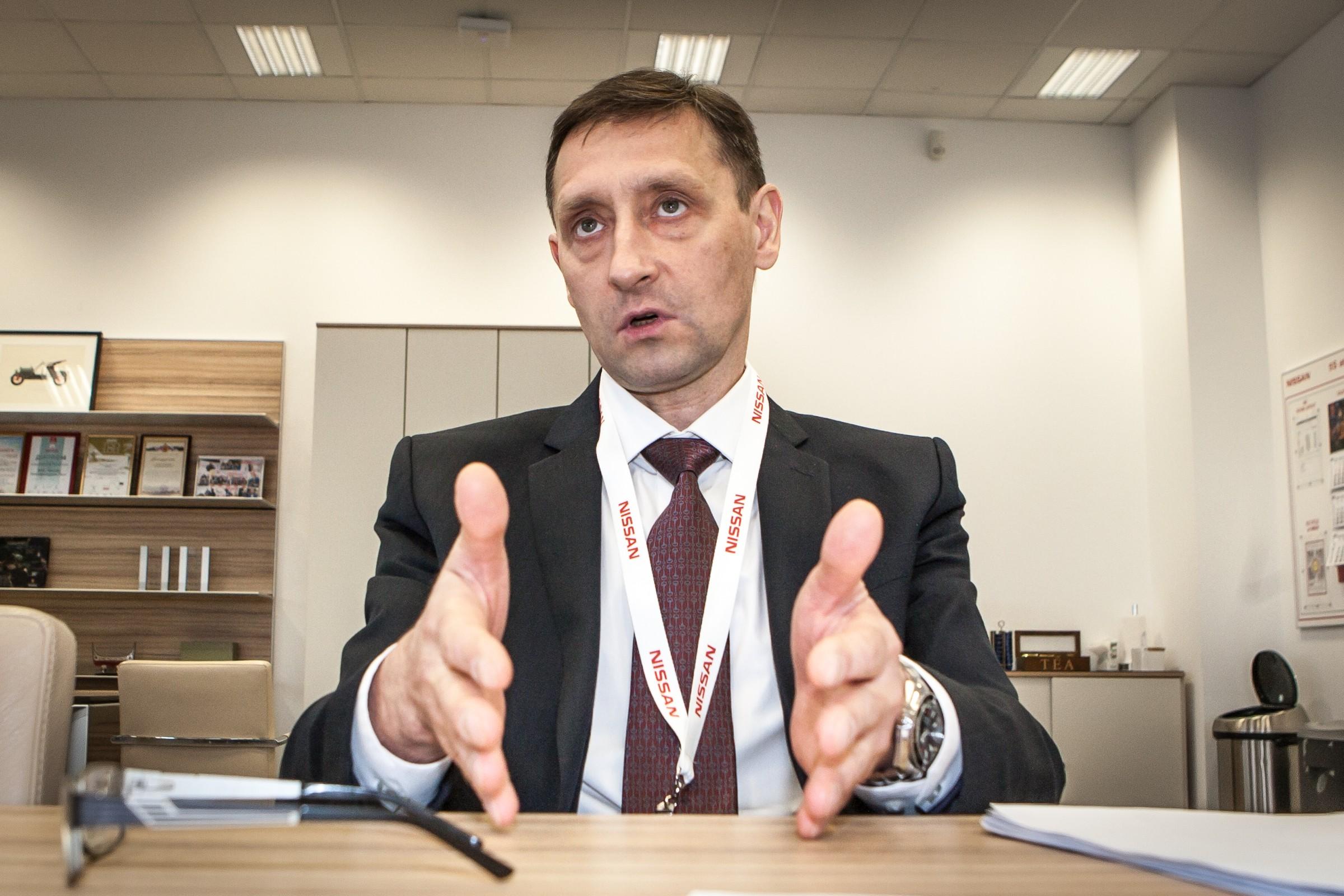 Игорь Бойцов, генеральный директор завода «Ниссан Мэнуфэкчуринг Рус»
