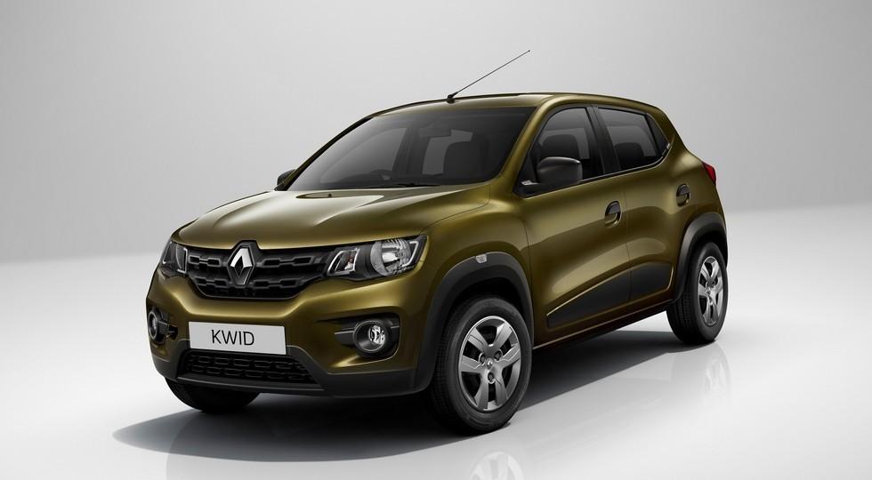 На фото: Renault Kwid