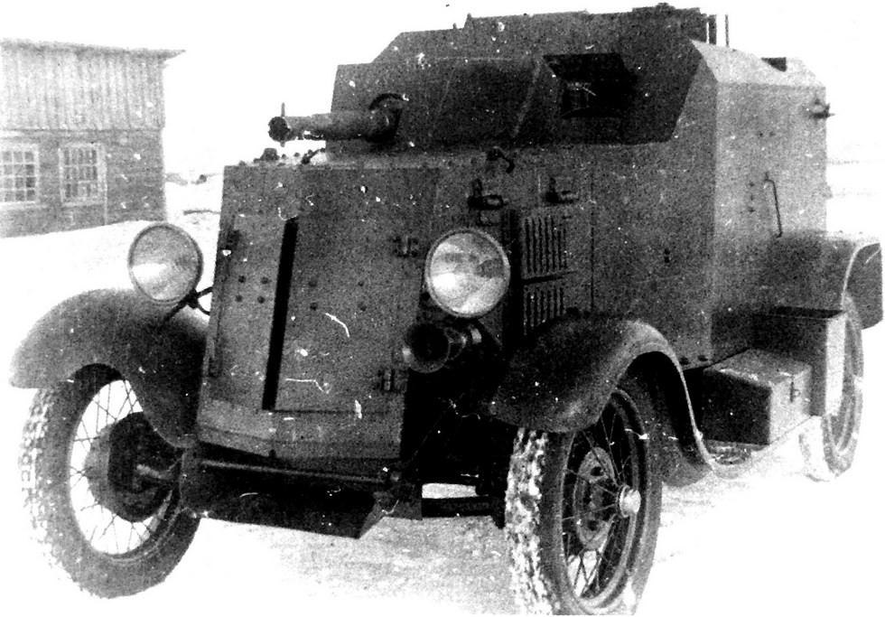 бронеавтомобиль Д-37 на шасси Ford-A