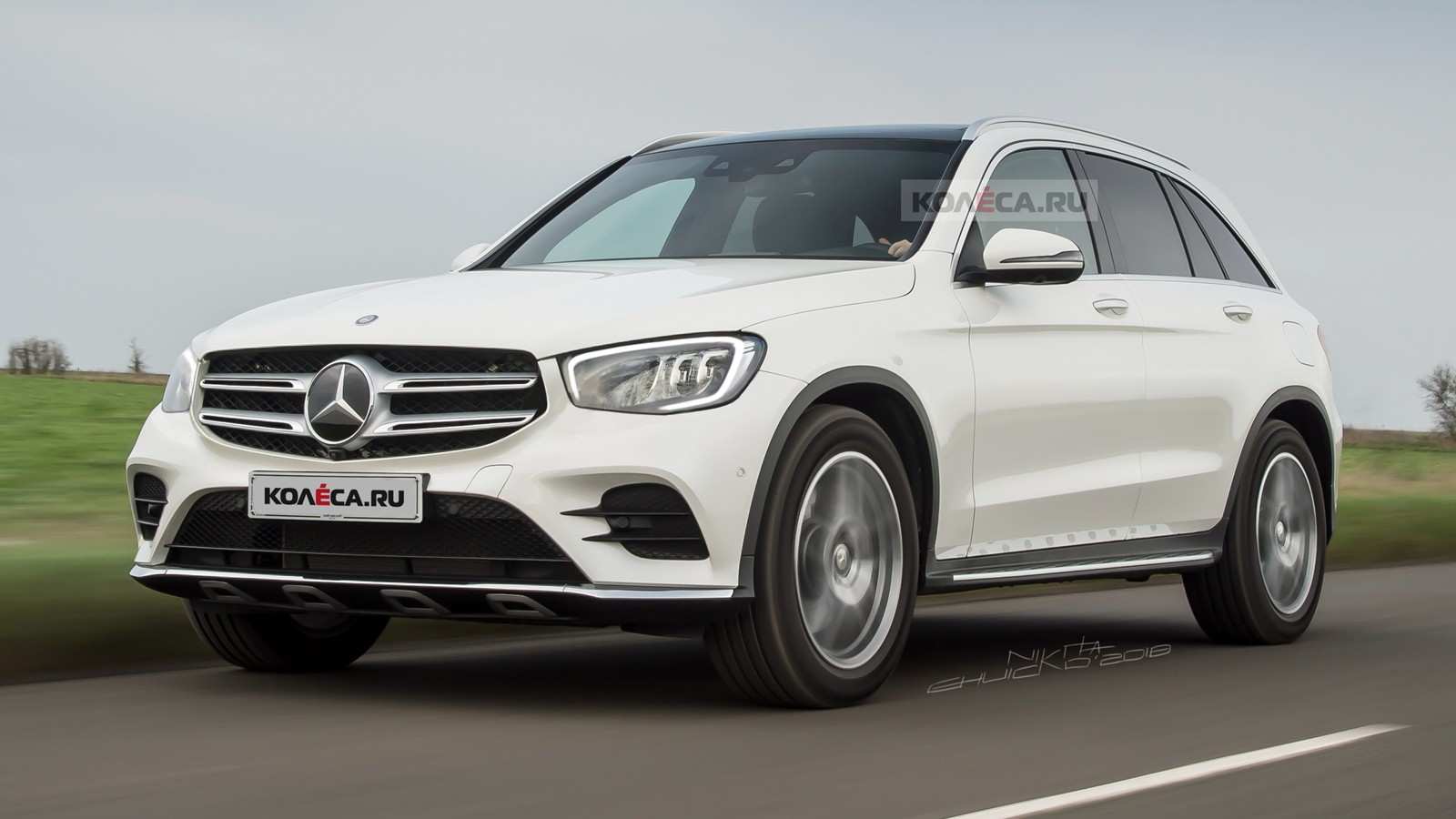 Mercedes-Benz GLC front1