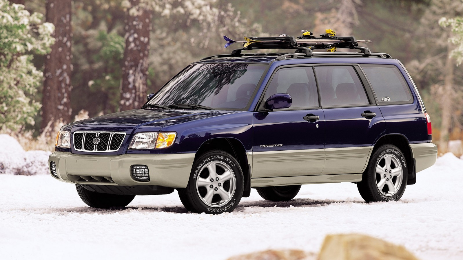 На фото: Subaru Forester (SF)