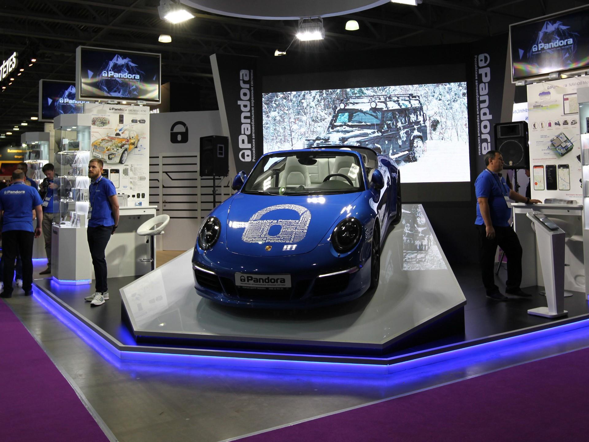 16-я международная выставка автомобильной индустрии «Интеравто»
