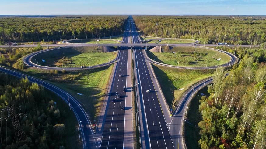 Дорога к Черноморскому побережью: работы на участке платной трассы М-4 завершили досрочно