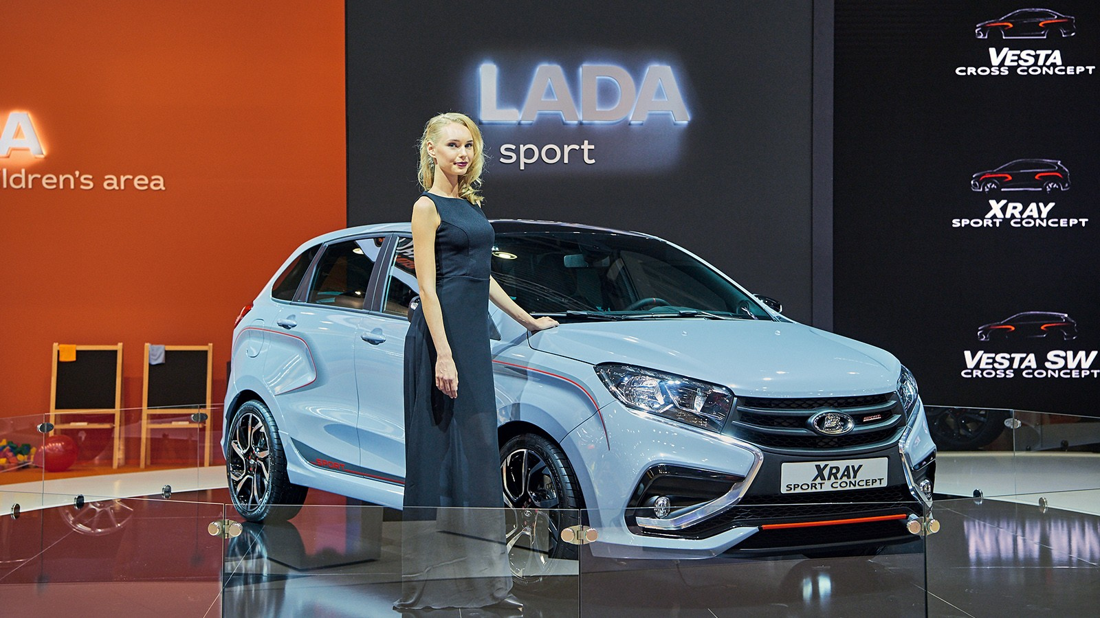 На фото: Lada Xray Sport Concept