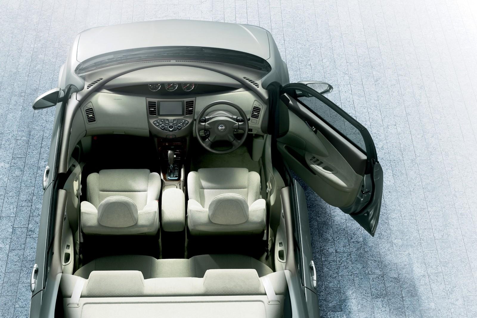 Интерьер Nissan Primera Sedan JP-spec (P12) '01.2001–07.2003