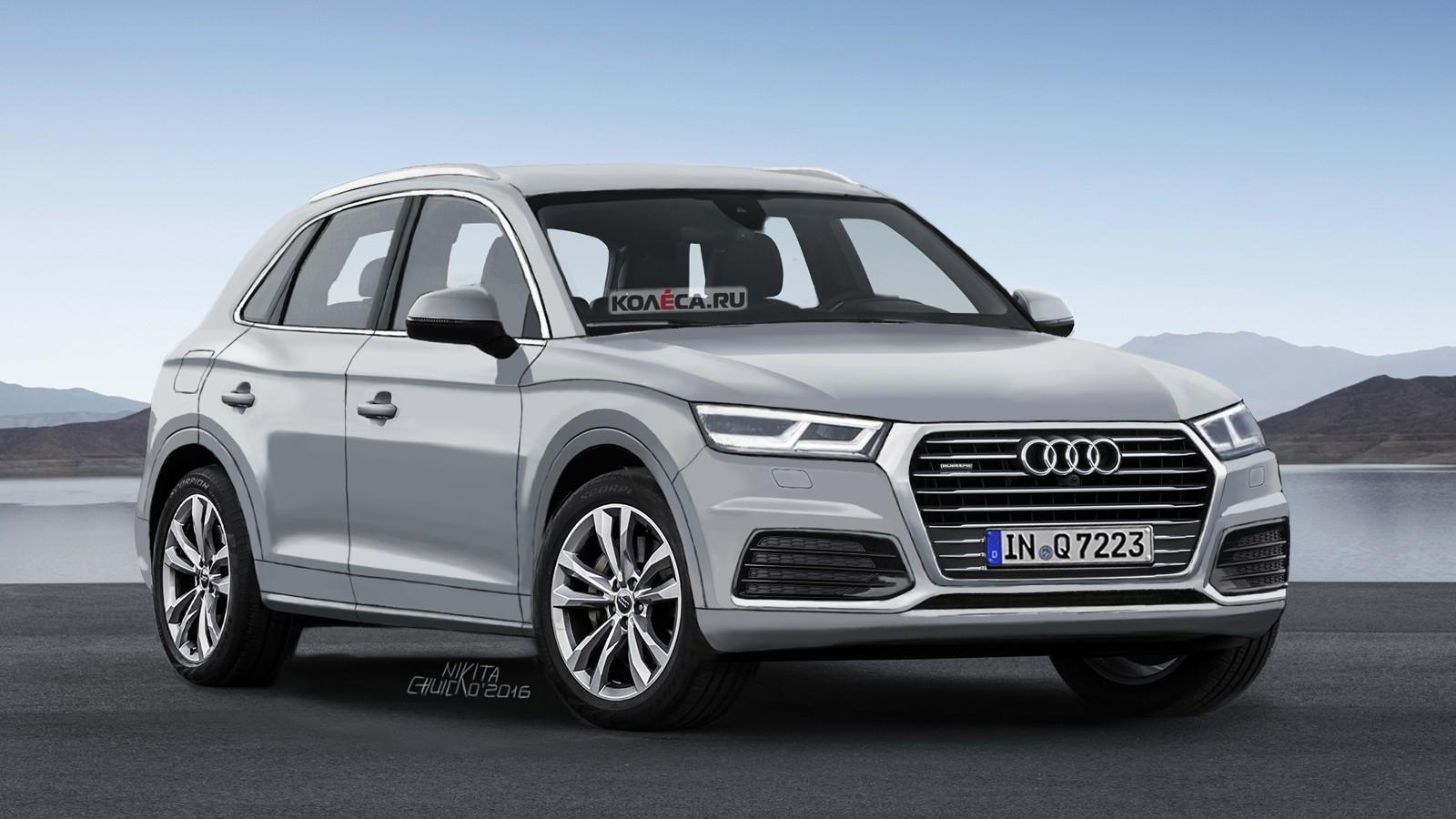 Audi Q5 render front