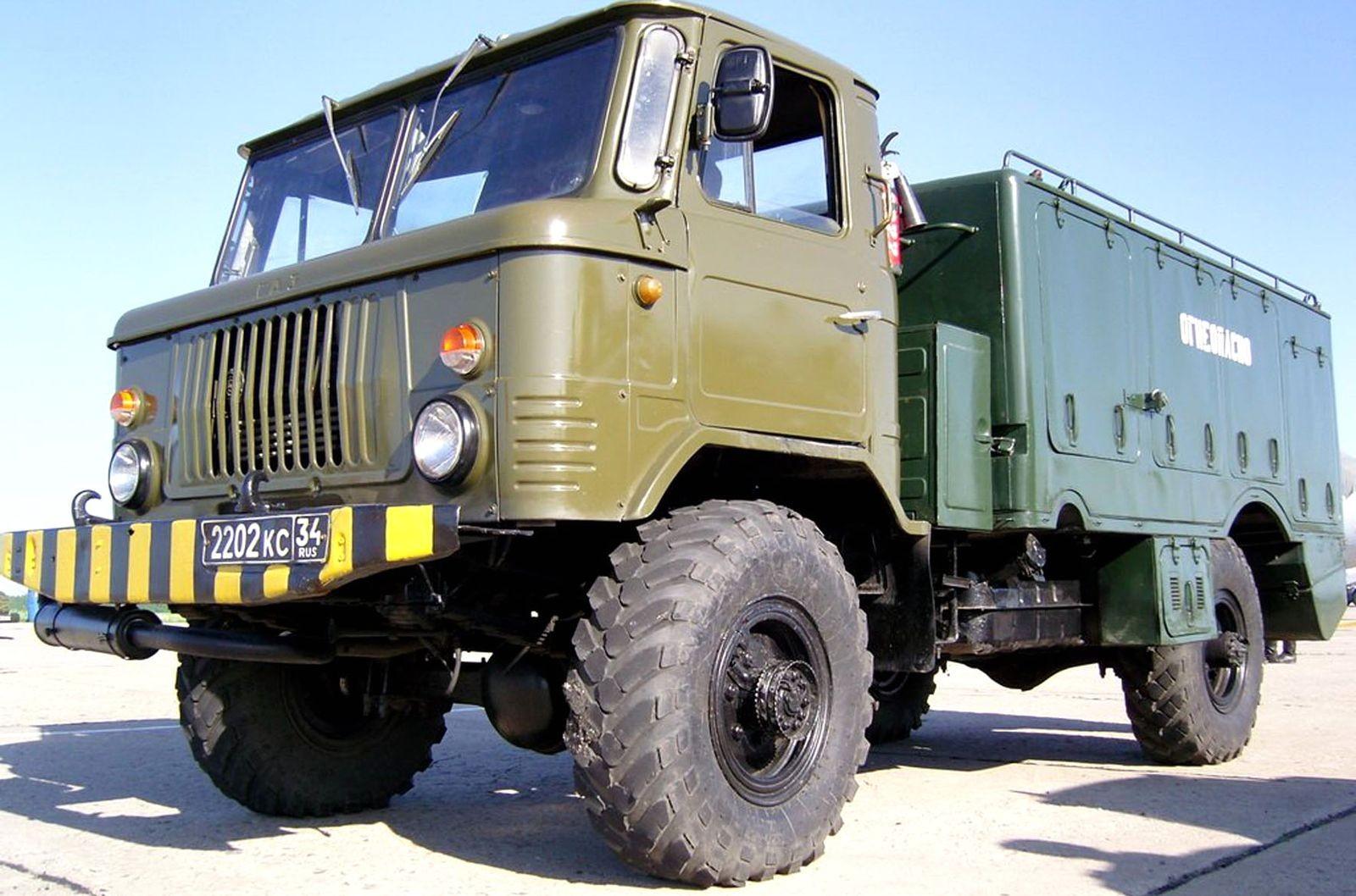 Радиотехнические, десантируемые, для космической связи и не только: спецверсии ГАЗ-66